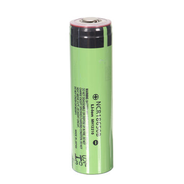 1PCS NCR18650B 3400mAh 3.7V Unprotected Pointed Head Rechargeable Li-ion Battery