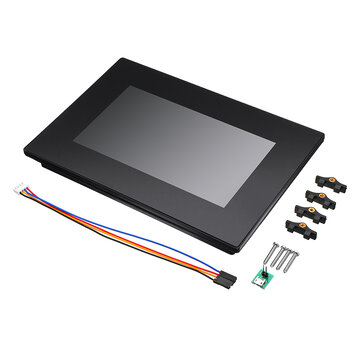 Nextion NX8048K070_011C 7.0 Inch Enhanced HMI Intelligent Smart USART UART Serial TFT LCD Module Display Capacitive Multi-Touch Panel With Enclosure