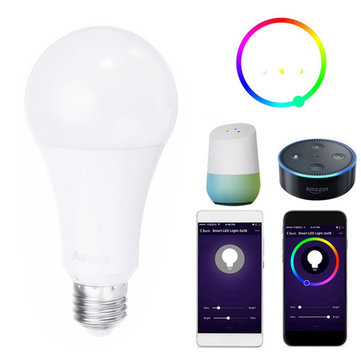 ARILUX® E27 9W 700LM RGBW WiFi APP Control Smart LED Bulb Work with Alexa AC85-265V