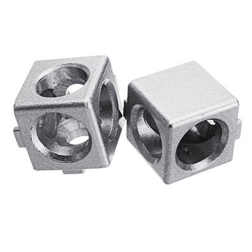Suleve™ AC20 20×20mm Aluminum Angle Corner Connector T Sloted Profile 2020 Series Aluminum Profile
