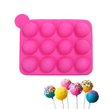 20 Cavity Pop siliconen cakevorm Non-stick Ball Shape Chocoladesuikergoed Soap Ice Fondant Pastry Mold