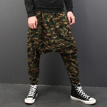 Men's Camouflage Casual Harem Pants