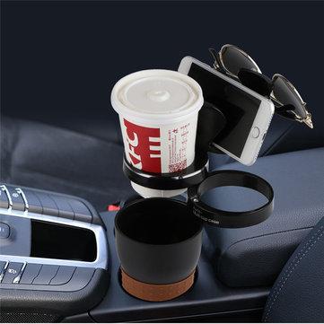 Supporto multifunzionale del supporto della tazza dell'automobile dell'automobile supporto del caffè dell'acqua per il iPhone Samsung Xiaomi