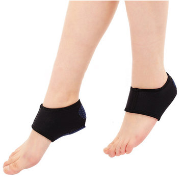 Scuba Heal Support Indoor Dancing Training Yoga Heating Socks Foot Arch Heel Pain Relief Cushion