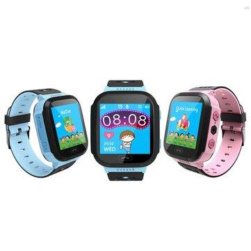 ENOCH Q528 Children Kid LBS SOS Call GPRS Расположение Устройство Tracker Фонарик Smart Watch