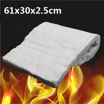 24x12x1 Inch Aluminum Silicate High Temperature Insulation Ceramic Fiber Blanket