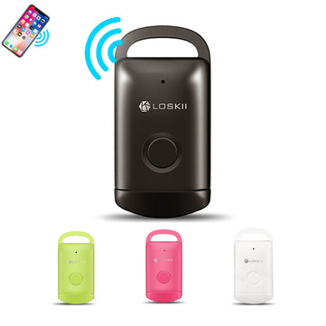 Loskii PT-20 Mini Multifunctional Bluetooth Wireless Anti Lost Device Alarm Kids Pets Wallet Tracker