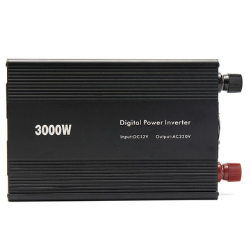 Modified Sine Wave Power Inverter 3000W (6000W Max) DC12V to AC110V/220V Car Home