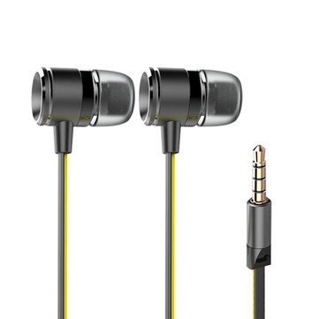 Golf M3 In Ear Sport Headphones Wired Control Bass Unit Earphone with Mic for Iphone Samsung Android