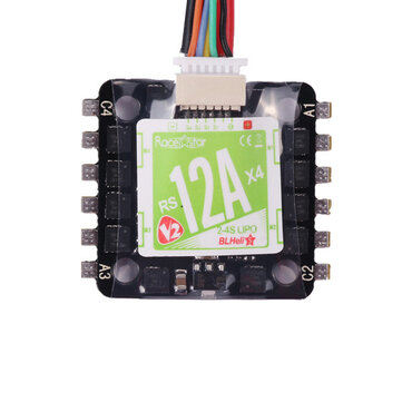 20x20mm Racerstar Mini RS12Ax4 12A Blheli_S BB2 2-4S 4 in 1 Brushless ESC D-Shot Ready