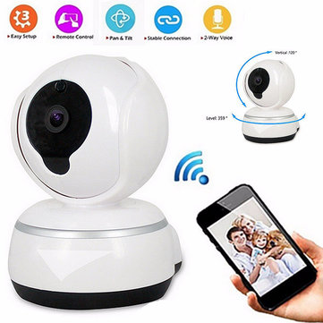 Wireless WIFI HD720P Record Camera Video Surveillance Security Network Baby Monitor Night Vision Audio Two-way Talk