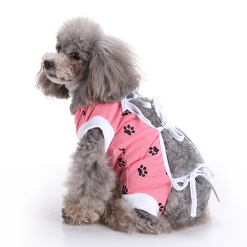 Pet Dog Clothes Vest Medical Care Dog Jumpsuit For Postoperative Nursing Care Skin Protect