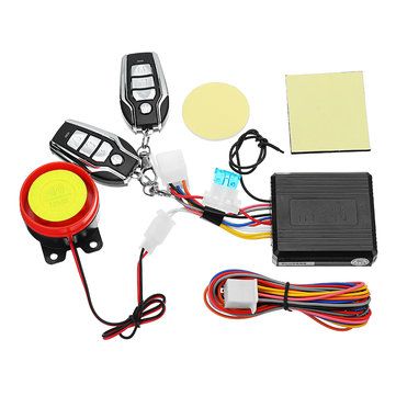 Universal Motorcycle Bike Scooter Anti-theft Security Alarm System Remote Control