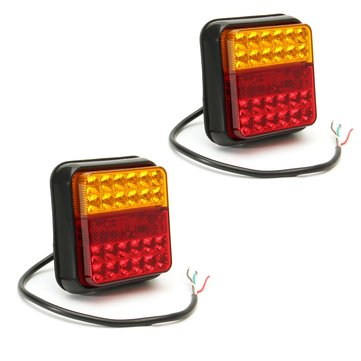 12V 24LED Car Tail Light Waterproof Stop Indcator Lamp for Truck Trailer Caravna UTE Boat
