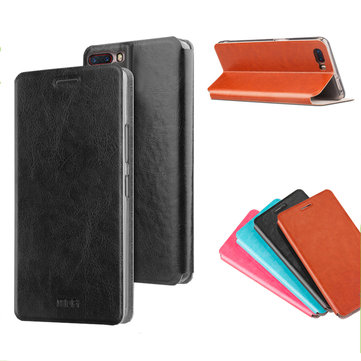 MOFI Flip PU Leather Smart Sleep Stand Full Body Protective Case For Nubia M2