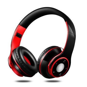 Wireless HIFI Stereo Foldable Bluetooth Headphone Earphone Sport FM Radio Headset with Mic
