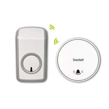 Battery-Free Self-Powered Wireless Remote Control Doorbell WithTransmitter