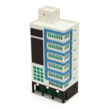1/144 8 LAYERS Outland Models Modern Tall Business Office For Sand Box