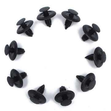 10pcs Interior Rivet Trim Fastener Clips 6mm For Mazda Trim Panels Fascias Linings