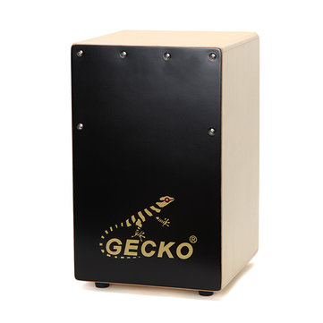 Gecko CS082 Blackwood Cajon Drum with Bag