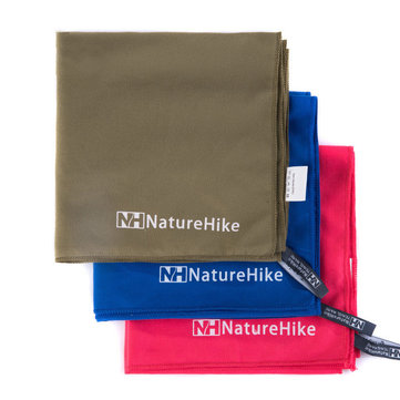 Naturehike NH15A003-P Outdoor Quick Drying Towel Travel With Pouch Super Absorbent Light Weight