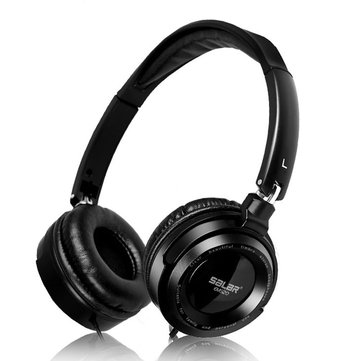 EM520 3.5mm Wired Adjustable Stereo Over Ear Earphone Headphone Headset without Mic
