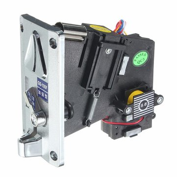 Plastic Electronic Advanced Front Entry CPU Multi Coin Acceptors Comparison Coin Selector For Vending Arcade Machine