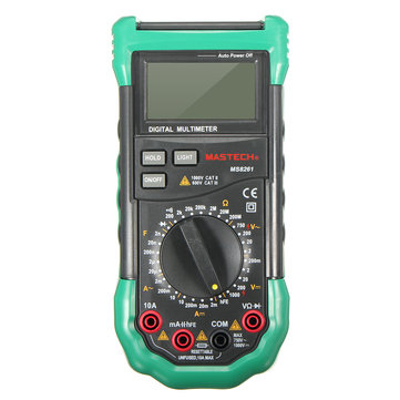 MASTECH MS8261 LCD Backlight Display Digital Multi Meters AC/DC Volt Amp hFE Test