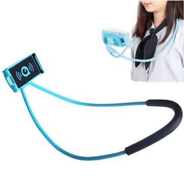Universal Neck Hanging Holder Phone Stand Lazy Holder Mobile Bracket for under 5.5 inches Smartphone