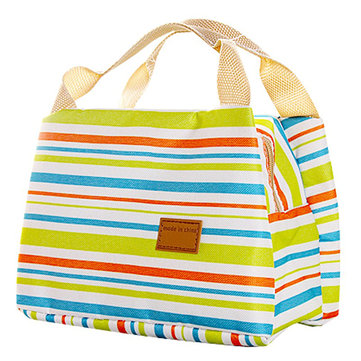 Practical Portable Oxford Cooler Ice Bag Food Thermal Lunch Tote Bag for Outdoor Sports