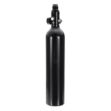 0.5L Liter Aluminum Tank Air Bottle With 4500 PSI Regulator For Paintball PCP