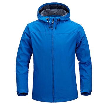 Men Outdoor Water Repellent Hiking Outdoor Windproof Jacket