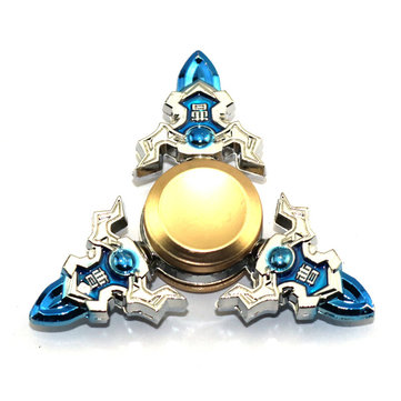 Legering Tri-Spinner Cao Cao Roterende Fidget Hand Spinner ADHD Autisme Verminder Stress Toys