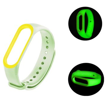 Bakeey Bracelet Replacement Belt Silicone Luminous Smart Watch Band for Xiaomi Mi band 3