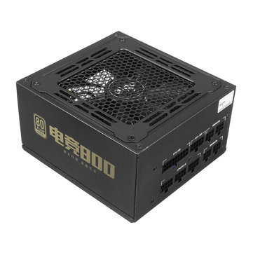 800W Fully ATX PC Computer Power Supply 80plus with Silent Cooling Fan