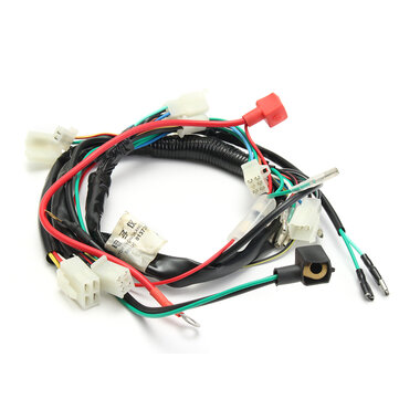 Elektrisch Motor Start Verdrahtung Webstuhl Kabelbaum Pit Bike ...