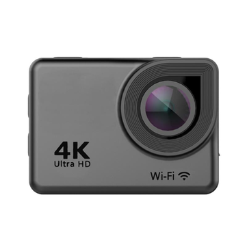 Ausek AT-38 4K 170 Degree Ultra HD Wide-Angle Waterproof WIFI Sports Action Camera Black