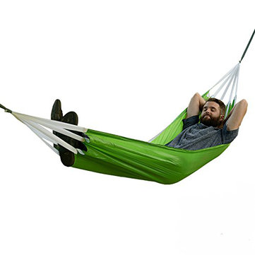 Naturehike Portable Single & Double Hammock Outdoor Parachute Nylon Fabric Hanging Bed