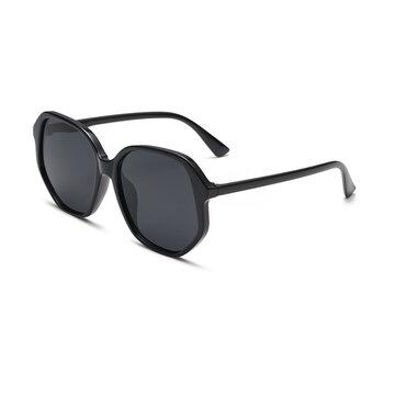 Unisex UV400 Big Frame Irregular Retro Sunglasses