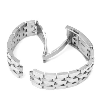 19mm Replacement Stainless Steel Watch Band For Tissot PRC20