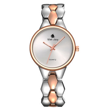 Luxury Fashion Alloy Strap Ladies Dress Women Quartz Watch