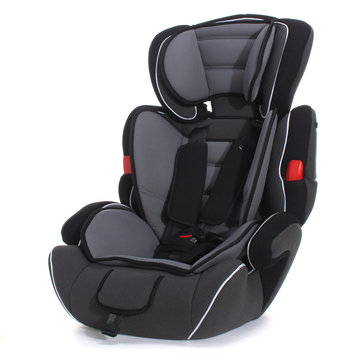 Black convertible Baby Kid Children Car Safety Seat & Booster Seat Group 1/2/3 9-36 KG Series A