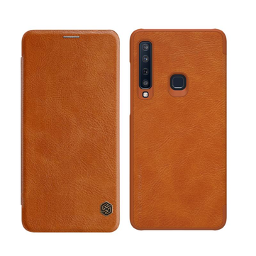 Nillkin Protective Case For Samsung Galaxy A9 2018 PU Leather Card Slot Flip Cover
