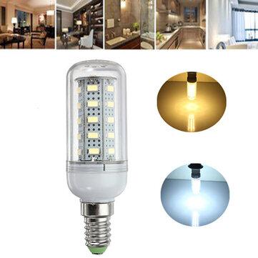 E14 7W LED 36 SMD 5730 ampoules de lampe de maïs 220V