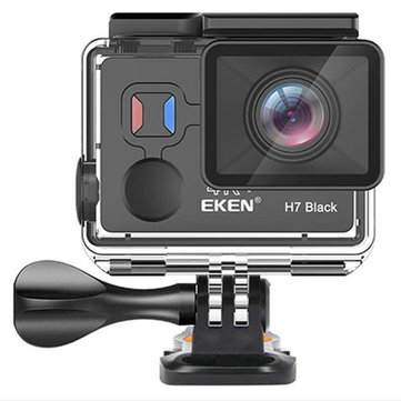 EKEN H7 Black Sport Camera Ambarella 4K+ EIS Action Camera Sony Sensor