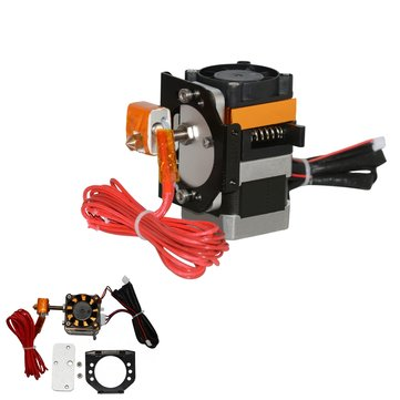 Geeetech® Open Mold Plastic 1.75mm 0.4mm MK8 Extruder + Motor Bracket Assembled Kit For 3D Printer
