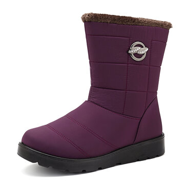 Women Fur Keep Warm Snow Boots