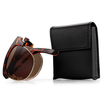 Men Women Folding Presbyopic Glasses With Glasses Case