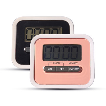 Eyebrow Tattoo Operation Time Remind LCD Digital Timer Count-Down Up Clock Loud Alarm