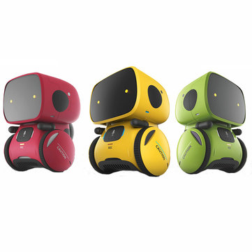 AT-ROBOT APOLLO Smart RC Robot Stemmekontroll Trykk på Voice Record Walking Robot Toy 10% Off